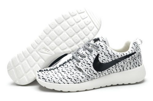 Womens Nike Roshe Yeezy Boost 350 White Black Coupon Code